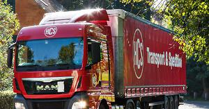 HCS vill köpa ett transportföretag i Sverige