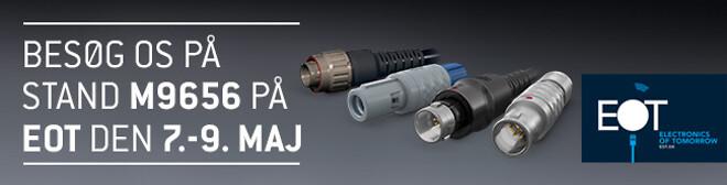 ODU udstiller innovative konnektorer og kontakter på EOT messen
