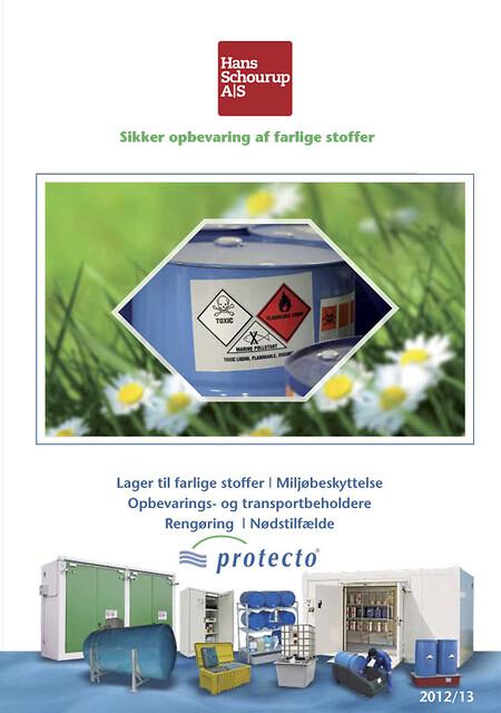 Brandsikring og miljørigtig opbevaring af farlige stoffer.