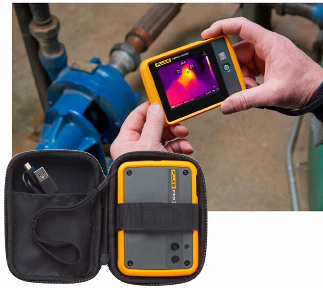 Fluke Pti120 IR-kamera i lommeformat (120x90) -10...150°C,<0,06°C