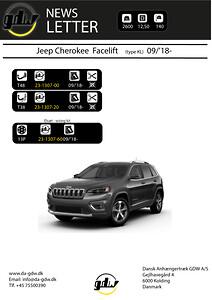 Jeep Cherokee Facelift fra Dansk anhængertræk GDW