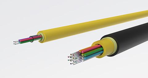 FTTH drop kabler  - Prysmian drop kabler - forbindelse til slutkunden