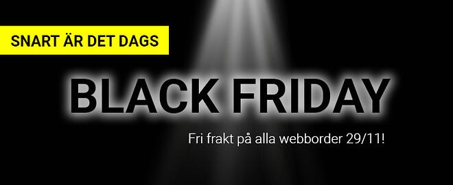 Black friday - fri frakt