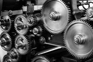 Samarbeidende roboter  til montering og produksjon