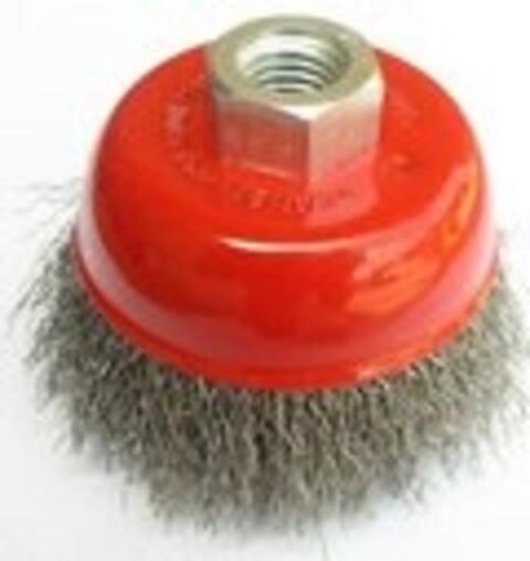 Kop stålbørste Ø75 mm t/vinkelsliber