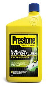 Prestone Cooling System Flush - Kylarsystemsrengöring