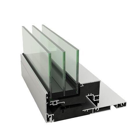Idealcombi Futura+i - Elegant, smalt og indadgående vindue ... minimal vedligeholdelse