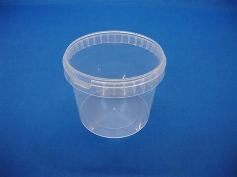 Plastbøtte 5030 - 1000 ml.- klar