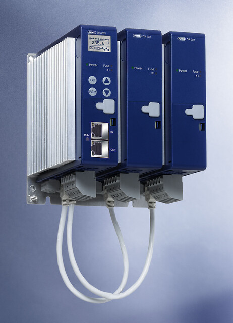 Tre-fase SCR Power Controller fra Jumo