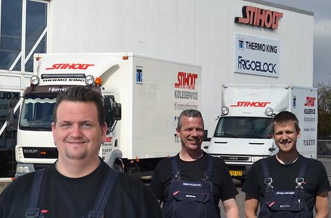 køleservice til transportbranchen - køleservice hos Stiholt
