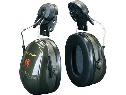 Høreværn peltor optime ii - grøn f/hjelm - 3M
