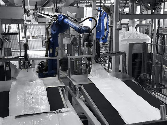 Fuldautomatisk bigbag fyldeanlæg