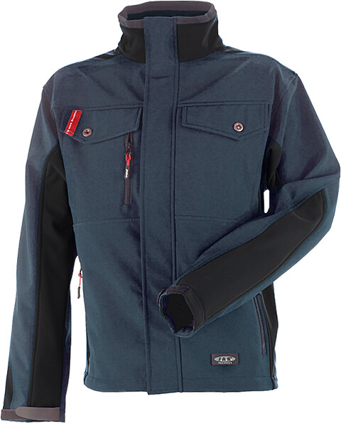 Softshell, petrol/sort - 6149