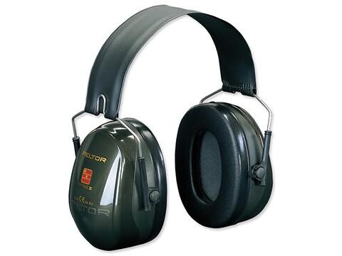 Høreværn peltor optime ii - grøn - 3M