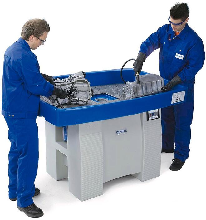 Rengøringsbord til rengøring uden opløsningsmidler
