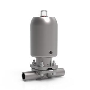 Aseptisk Membran Ventil, ventil magnetventil, ODE, KH-Technic,  CE1935/2004, FDA, USP40