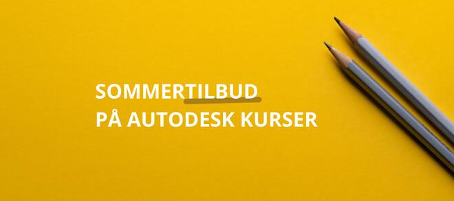 Tilbud på Autodesk Kursser | Autodesk Inventor | Autodesk Revit | Autodesk Kursus Center | Invent A/S