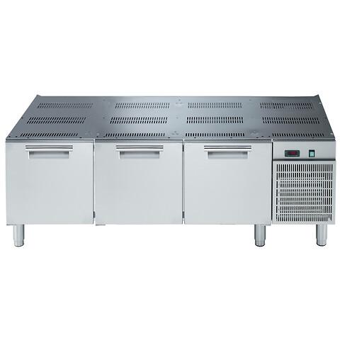 Understel med køl/frys til dit koge-stegeudstyr - Understel med køl/frys til dit koge-stegeudstyr - Kontakt Nørgaard Storkøkkener på 49221122