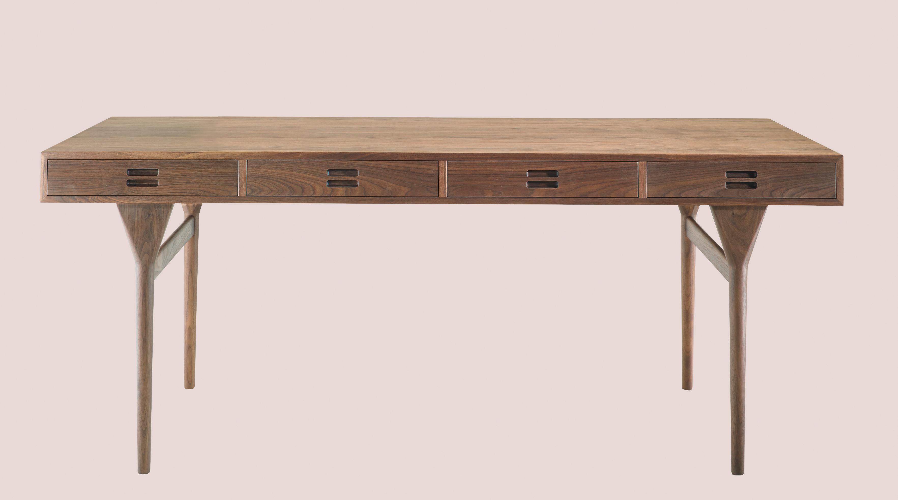 Picture of: Ikonisk Designerskrivebord Relanceres Wood Supply Dk