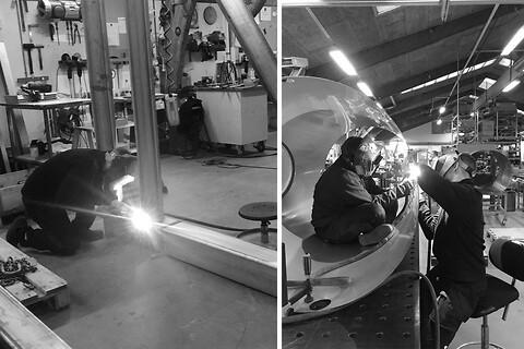 TIG Svejsning i rustfri stål både små og stor emner kontakt Lars Broe Rustfri stål - TIG svejsning i rustfri stål