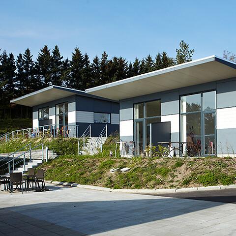 Hos GSV kan du leje arkitekttegnede og energivenlige pavilloner