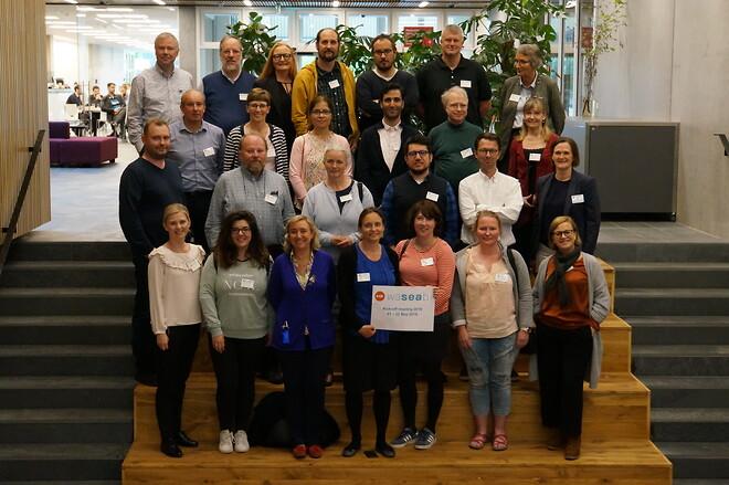 WaSeaBi projektpartnere til kick-off i København