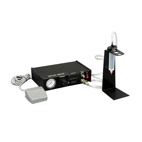 Pneumatisk limdispenser til timet eller manuel dispensering