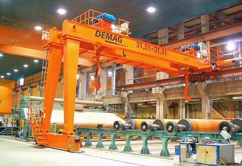 Halvportalkranar EHPE, ZHPE upp till 50 ton