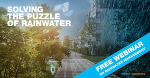 Webinar: Løsninger på udfordringerne med regnvand