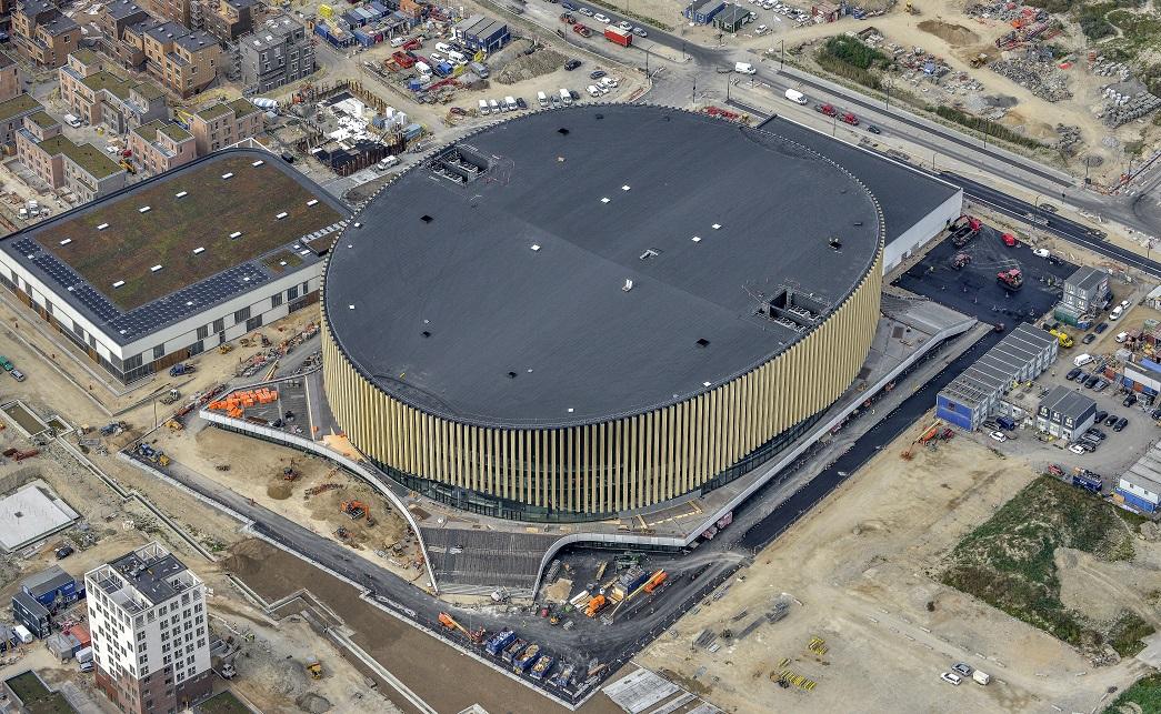 mul10 prosafe faldsikring til royal arena cphx building