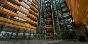 Billede af moderne bygning