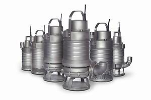Grindex INOX pumper i rustfrit stål til industrien
