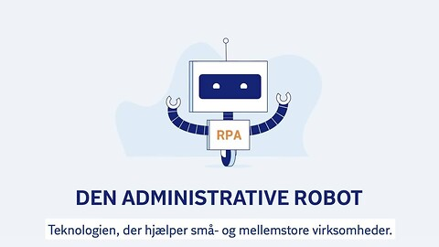 Administrative robotter (RPA) for begyndere