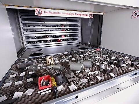 Leanlift eller Rotomat lagerautomat fra Bergsli Metallmaskiner