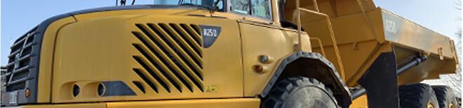 Olsson Parts har ett stort lager av hytt- och karossdelar till Volvo entreprenadmaskiner