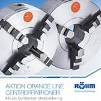 Røhm orange line centrerpatron