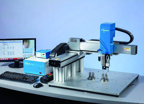 Gantry-doseringsrobot med vision