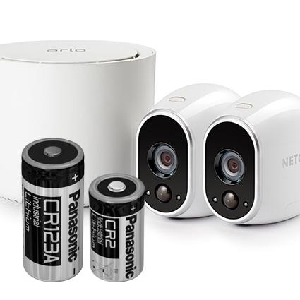 Batterier til alarmsystemer