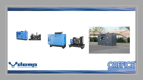 Generatoranlæg til alle fomål - #demp #orefice #silengen #ultrasilent #generatoranlæg #byggeanlæg