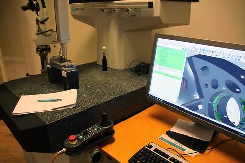 PC-DMIS, mätmaskin, påbyggnad - Eskilstuna