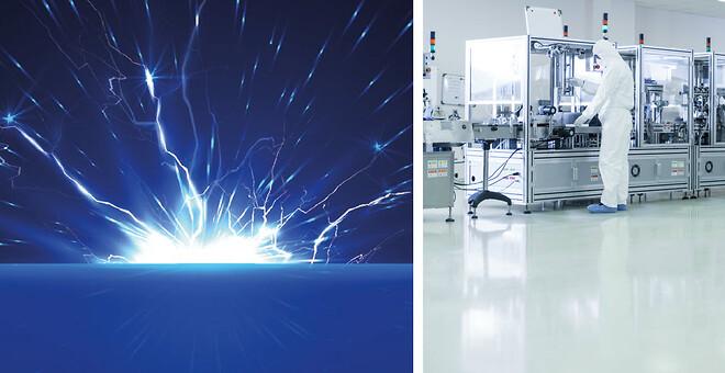 Skydd mot elektrostatiska urladdningar med AS/ESD-golv