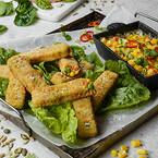 Green Cuisine, plantebaserede frosne produkter, klimavenlige, grøntsagssticks