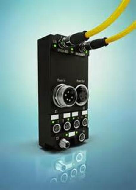 EtherCAT I/O-system; målingsteknologi IP67 kraftdistributør med integrert strøm- og spenningsmåling