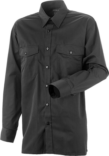 Arbejdsskjorte, sort - 5120
