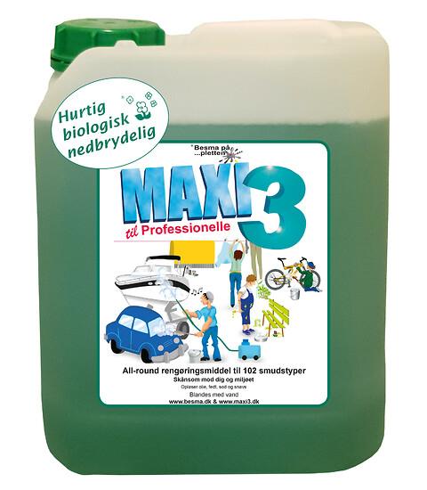 Maxi 3 Allround - En grøn løsning - Maxi 3 Allround
