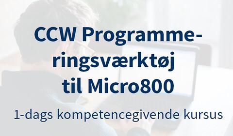 CCW Programmeringsværktøj til Micro870 & Kinetix 5100