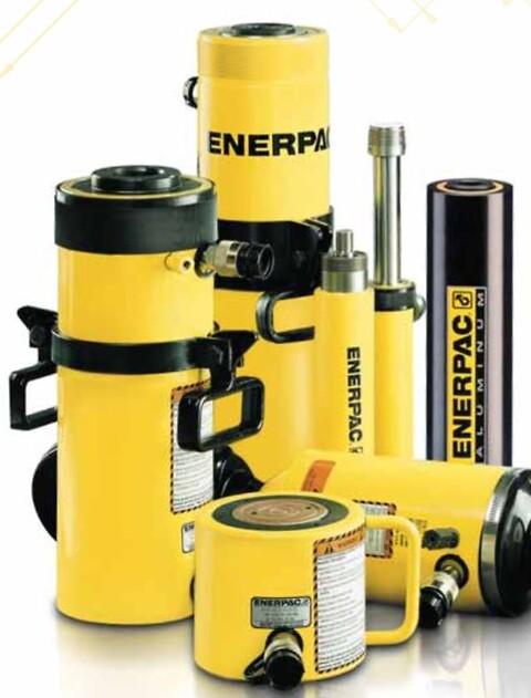 ENERPAC hydrauliske cylindere fra NHI ApS.