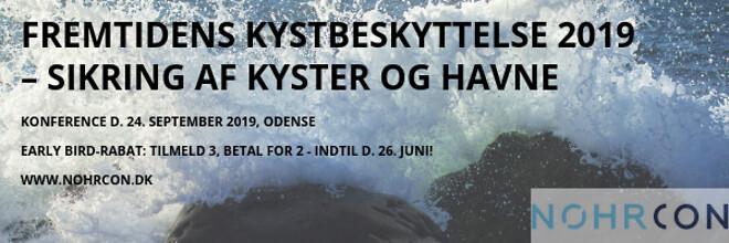 Konference om Fremtidens kystbeskyttelse 2019 - Sikring af kyster og havne