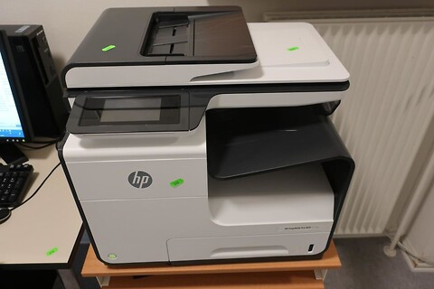 Printer hp pagewide pro mfp 477dw
