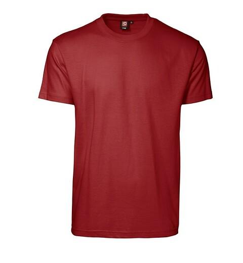T-shirt, rød - 0510